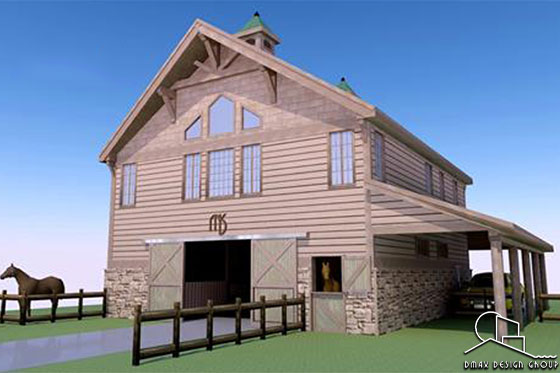 Colorado Horse Barn Design Plans