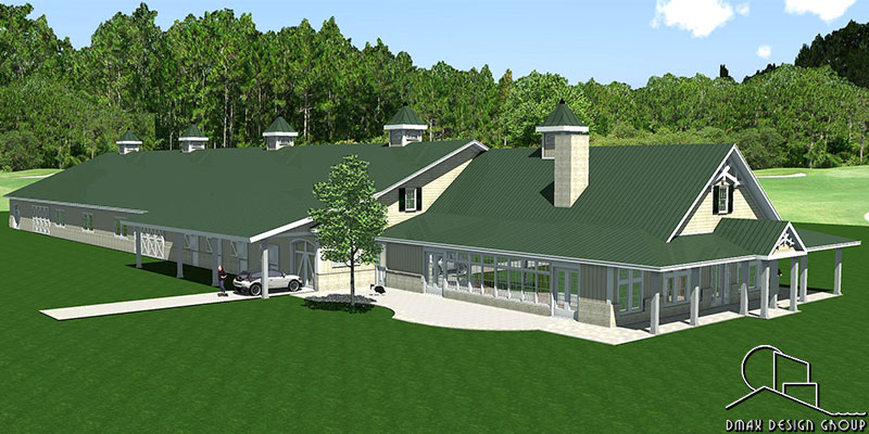 Kentucky Arena Horse Barn With Living Quarters Floor Plans