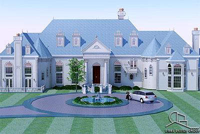 Custom Home Design Plans | Dmax Design Group