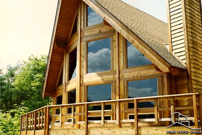 Timber Frame Custom Home Designs