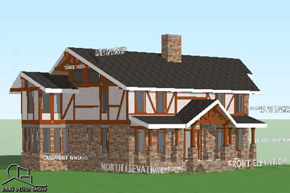 Timber Frame Custom Home - Plymouth, NC